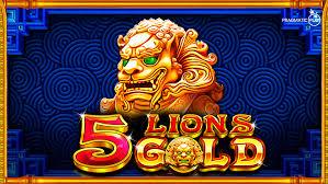 Slot Pragmatic 5 lion gold