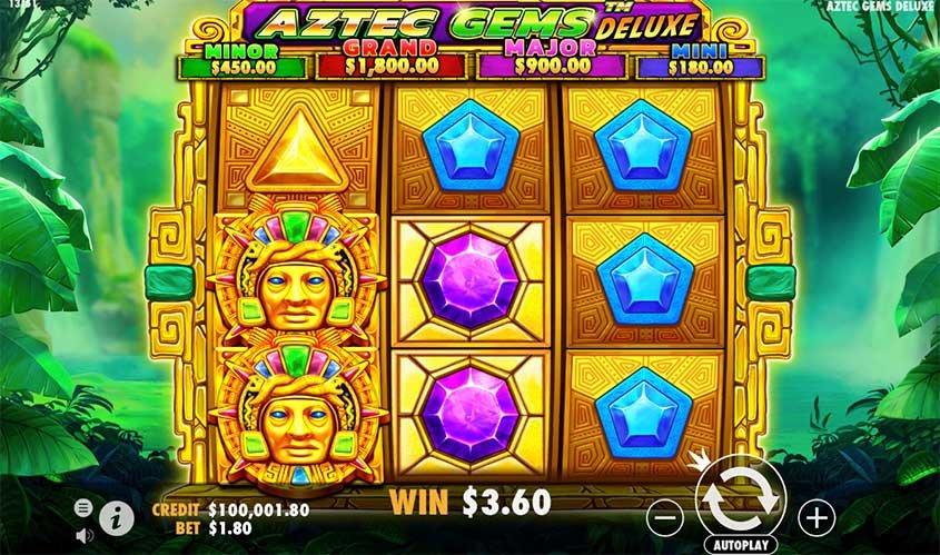 Aztec Gems Deluxe Slots