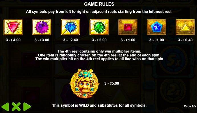 simbol aztec gems