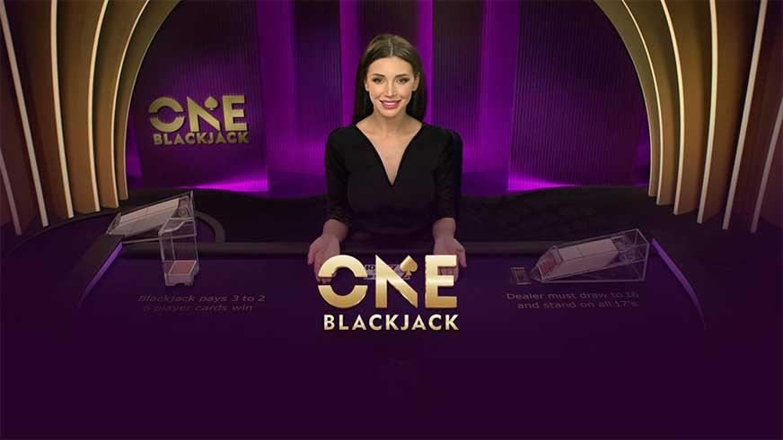 Bermain ONE Blackjack Live Pragmatic Play